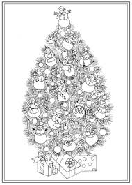 Halloween Coloring Books For Adults by Christmas Tree Coloring Pages For Adults 2017 Dr Odd