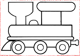 Nos Jeux De Coloriage Train à Imprimer Gratuit Page 2 Of 8