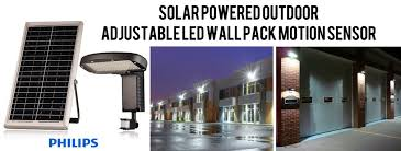 solar led wall pack light solar powered outdoor adjustable led
