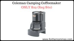 Coleman Camping Coffeemaker ONLY 29 Reg 60