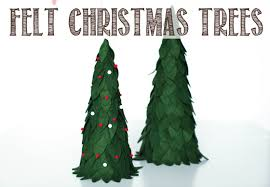 DIY Felted Christmas Tree Tutorial Melodrama
