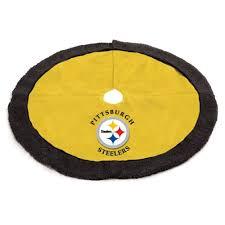 48 NFL Pittsburgh Steelers Logo Christmas Tree Skirt Amazoncouk Kitchen Home