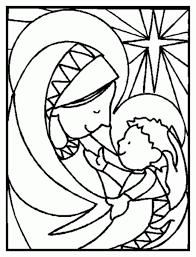 Baby Jesus Coloring Page Sheet Printable 99Coloring