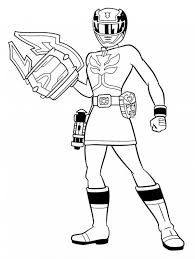 Printable Power Ranger Coloring Pages Me