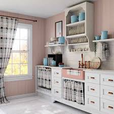 Kitchen Drapery Ideas The Top 77 Kitchen Curtain Ideas Interior Home And Design