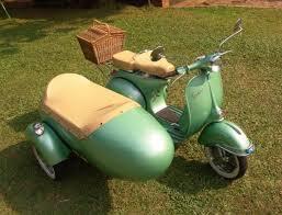 1962 Vespa VBB 150cc With Sidecar