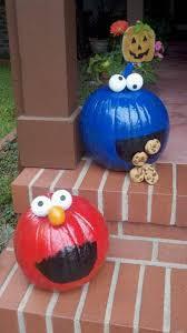 Oscar The Grouch Pumpkin Stencil Free by Make Sesame Street Pumpkins For A Cute Halloween Decor Craft