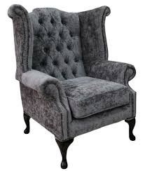 Details About Chesterfield Queen Anne Wing High Back Belvedere Pewter Grey  Velvet Fabric Chesterfield High Back Chair Oxblood Leather Top 4 Places You Can Spot A Thomas Lloyd Details About 2 Seater Queen Anne Sofa Modena Regency Grey Velvet Of Violet Color With Buttons On A Stock Sofa Precious How To Choose Comfy Thats Right For You Timeless Tufted Recliner Executive Office High Back Wing Chair Presented In Vintage Brown Leather Black Armchair Uk Afreegoco Awesome Fniture
