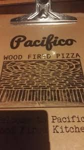 Menu Picture of Pacifico Wood Fired Kitchen Malahide TripAdvisor