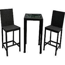 Bar Height Bistro Patio Set by Patio Bar Height Bistro Set