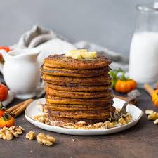 Easy Healthy Pumpkin Pancake Recipe by Coconut Flour Pumpkin Pancakes The Movement Menu