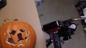Snoopy Pumpkin Carving Kit by Carving A Dog Into An Artificial Pumpkin Youtube