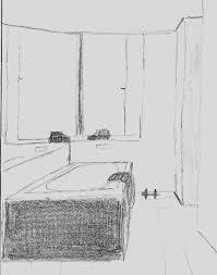 das badezimmer skizze zeichnung zeichnungen badezimmer