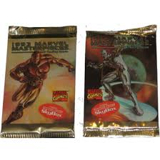 1993 Marvel Masterpieces Sybox Trading Cards Single Packet