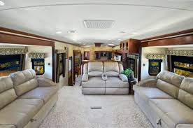 Fifth Wheel Campers With Front Living Rooms by Evergreen Introduces Open Concept Front Lounge Bay Hill Fifth