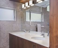 Bathroom Double Vanity Lights by Double Vanity Bathroom Contemporary With Skylights Soft Close