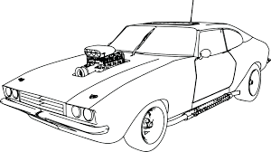 Car Colouring Sheets To Print Muscle Old Sport Coloring Page Pages Lamborghini Color Free Full