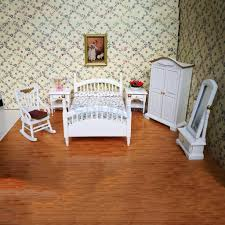 US $25.91 29% OFF|Contemporary Style 1/12 Dollhouse Miniature Furniture  Bedroom Floral Bed Wardrobe Chair Bedside Table Set Kids Pretend Play  Toy-in ... Chair 35 Awesome Modern Ding Room Table And Chairs Us 8990 White Minimalist Rattan Garden Set Wicker Small Chair Creative Leisure Outdoor Fniture Setin Buy Contemporary 5piece Includes 1 Unique Kitchen Sets Design Models Exciting Tables Images Amazoncom Simple Living Hayden Kids Metal Swing Bench 40 Coffee Square Glass Ch Hot Item Alinum Resin Wood Oval For Top Walnut Console Entry Way Table Tables