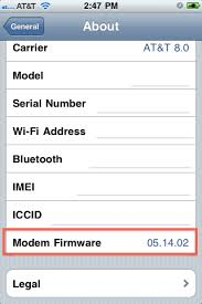 How to Find iPhone Baseband Version