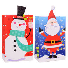 Christmas House Giant Pop Up Gift Bags 11x17 In