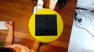 ikea solar powered table l