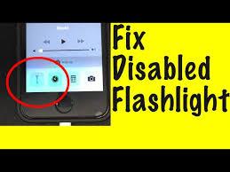 Missing iPhone Flashlight Fix