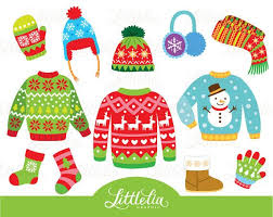 Ugly Christmas Sweater Clothing By LittleLiaGraphic