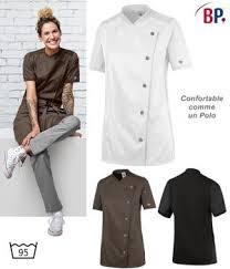 veste cuisine femme manche courte veste de cuisine femme manches courtes port confortable modern fit