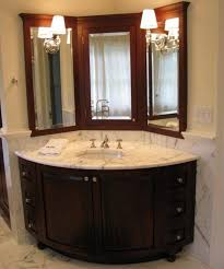 corner bathroom sink vanity cabinet sink ideas