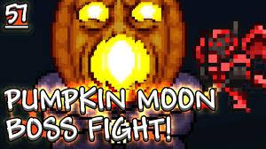 Pumpkin Moon Terraria by Terraria Pc Pumpkin Moon Spooky Wood Spooky Hook 57 Youtube