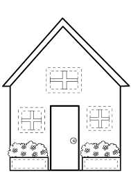 Best Houses And Homes Coloring Pages For Kids