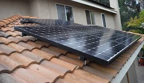 clay tile roof solar installation san diego solar installation