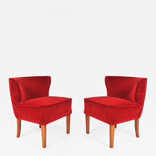 Pair Of 1950s Italian Red Occasional Chairs Red Accent Chair Trinidad Modern Mahogany W Round Chrome Base Inspirational With Arms Photograph Of Purple Mid Century Attributed To Knoll Chairs For Living Room Ideas Including Cambridge Nissi 981705red The Home Depot Alexa Classic Microfiber And Storage Ottoman Abigail Ii Patterson Iii Dinah Patio Stationary 6800 Truesdells Fniture Inc