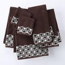 Kohls Bath Towel Sets by Lenox Holiday Nouveau Ribbon 2 Pack Fingertip Towel Set