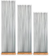 skydesign grauer raumteiler 145 cm hoch bambus holz