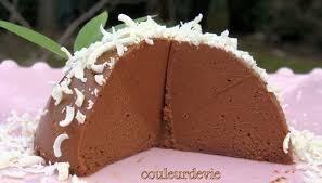 dôme fondant chocolat café sans cuisson couleurdevie