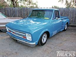 100 Chevy Stepside Truck For Sale Custom 67 Customizing Chevrolet Gmc C10 S 67 C10