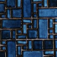 craft blue porcelain mosaic swimming pool tile pcmt068