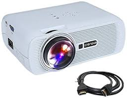 Crenova XPE460 LED Video Projector Home Projector with Free HDMI Support 1080P for Home Cinema Theater