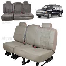 Beige Tan PU Leather Bench Seat Covers For Chevy Silverado Crew Cab ... Chevy Silverado Interior Back Seat Best Chevrolet Chevroletgmc Pickup 7387 Bracket Bench Covers Riers Split For Trucks Small With Seats Cheap 1968 C10 Benchseat 1 5001 Is There A Source For Bench Seat 194754 Classic Parts Talk Truck Carviewsandreleasedatecom 000 Pixels With Similiar S10 Keywords Used New Wonderful Walmart Canada Symbianologyinfo Truck Covers