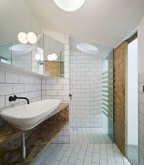 remodeling ideas for exposed brick tiles in a bathroom simplejoy