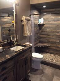 rustic small bathroom ideas image of bathroom and closet