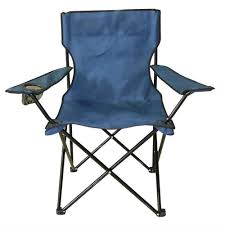 ProHT Navy Blue Mesh Folding Chair For Outdoor Events