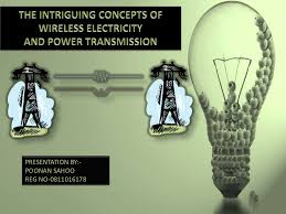 poonan wireless electricity and power transmission