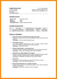 Basic Resume Examples India Samples Doc About Sample Pdf Standard Rhdanayaus Mis Executive Blackdgfitnesscorhblackdgfitnessco