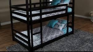 jerome s furniture triple decker bunk bed youtube