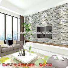luxus stein ziegel wand pvc vinyl tapete 3d mauer importiert tapeten wohnzimmer hintergrund wall decor tapete