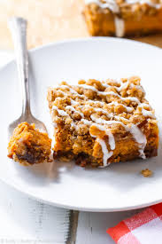 Gingersnap Pumpkin Pie Cheesecake by Pumpkin Streusel Bars Sallys Baking Addiction