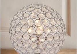 Swarovski Crystal Lamp Finials by Crystal Ball Lamps Really Encourage Swarovski Faceted Crystal