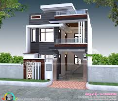 100 India House Design 2200 Sqft 4 Bedroom House Plan Modern Style Kerala Home